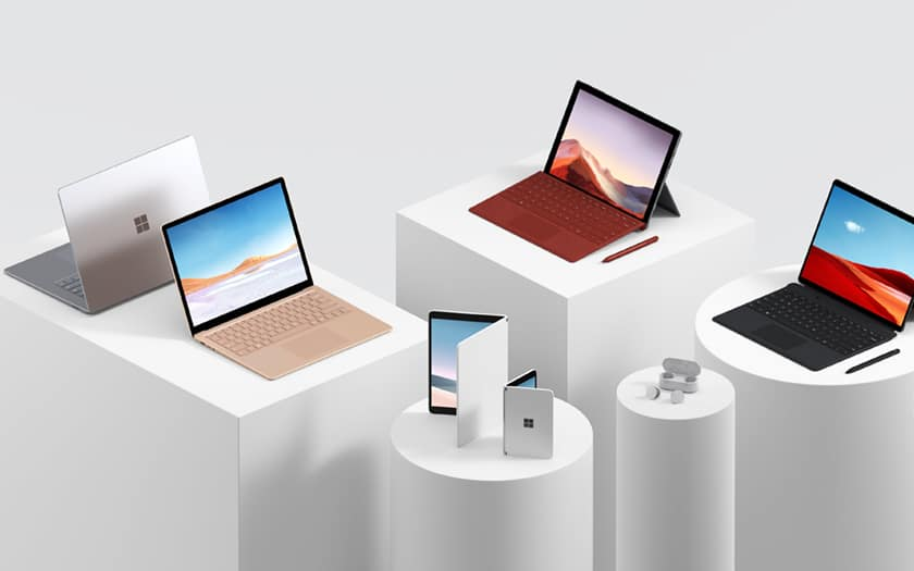 Surface Laptop 3, Pro 7, X ,  Neo et Duo  : les annonces officiels de Microsoft